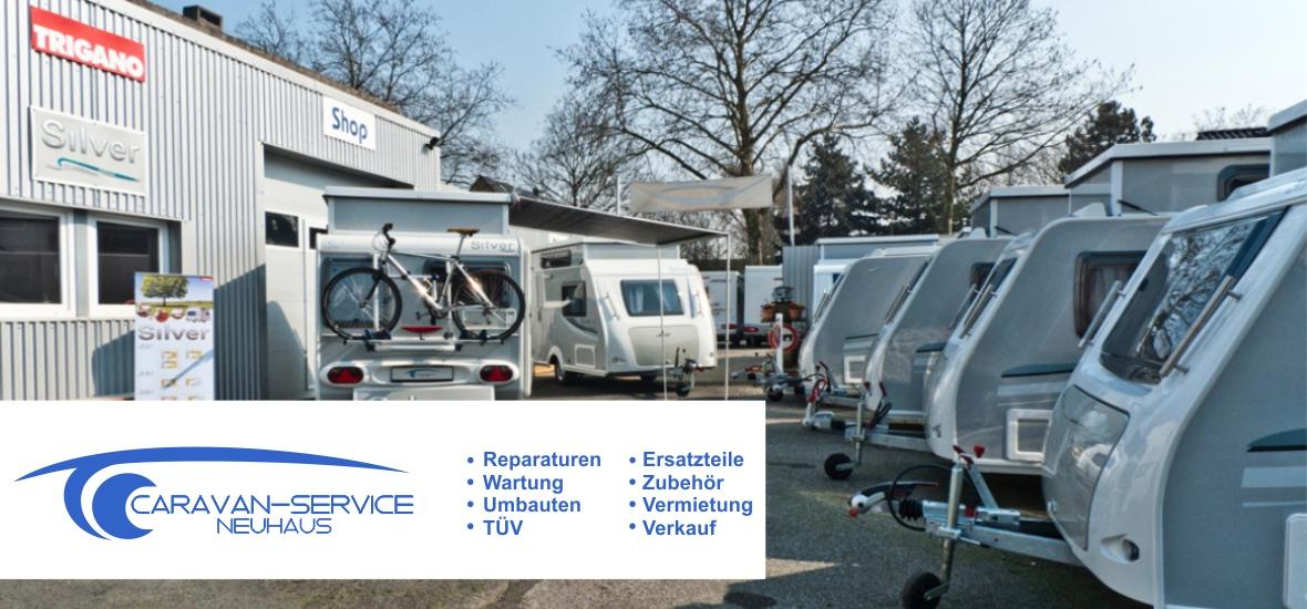 Caravan-Service Neuhaus Duisburg: Reparaturen, Wartung, Vermietung, Verkauf